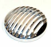 Aluminum Alloy Grilled Headlight Cover For Harley Sportster Xl 2004-13 W/ 5-3/4