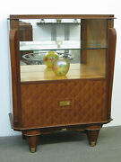 French Art Deco Showcase Display Case Vetrine Circa 1940and039s