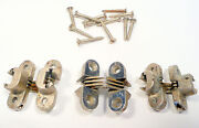 Capehart Radio / Record Console Part 3 Vintage Cabinet Silver Hinges W/screws