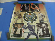 Nba 1998 Basketball Hall Of Fame Enshrinement Inductees Poster- Larry Bird 20x2