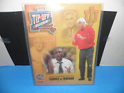 Ncaa 1998 Basketball Hall Of Fame Tip-off Classic- Indiana Vs. Temple Program