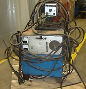 Miller Electric Mfg. Dc Welder Model Cp-250ts 3 Phase W/ Wire Feed M4 18388lr