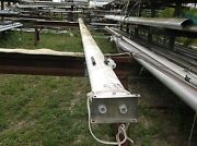 28 Feet 8 Inch Sailboat Mast Complete With Electrical Wiring And Hinged Plate