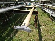 26 Feet 10 Inch Yellow Aluminum Sailboat Mast With Complete Masthead