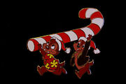 Chip And Dale Make Off With A Candy Cane 2003 Le 1000 Pin