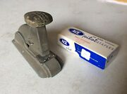 Vintage Art Deco Office Stapler And Accessories By Speed Products Co. And Ace Pilot