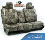 New Full Printed Mossy Oak Duck Blind Camo Camouflage Seat Covers / 5102028-01