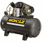 Schulz V-series 5-hp 80-gallon Two-stage Air Compressor 208v 3-phase