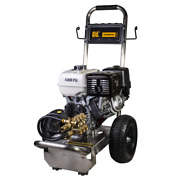 Be Professional 4000 Psi Gas - Cold Water Pressure Washer W/ Honda Gx390 En...