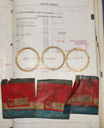 Nos Bmc Thrust Washers 22a546, 22a547, And 22a549. Austin Mini Cooper 1275 And S --