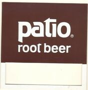 Patio Root Beer Vending Machine Insert, Push Button Style, 3 1/2 X 3 1/2