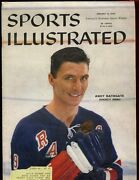 Jan 12 1959 Sports Illustrated Magazine With Andy Bathgate Cover Exmt