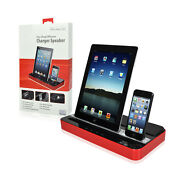 Charger Speaker Dual Dock For Iphone 6/6+ 5/5s/5c 4/4s Ipadall Model Samsung
