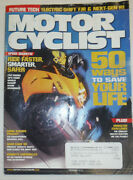 Motor Cyclist Magazine Kevin Schwantz And Bmw K1200s August 2006 020415r