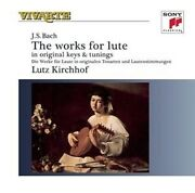 Lutz Kirchhof - Complete Works For Lute 2 Cd New+ Bachjohann Sebastian