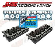 Ford 6.0l Powerstroke 18mm 20mm Cylinder Heads And Gaskets W/ Arp Head Stud Kit