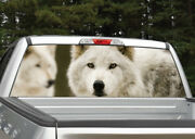 Wolf Wolves Rear Window Decal Graphic For Truck Suv Van
