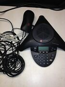 Lot Of Polycom Equipment Voicestation 100 Wall Module Soundstation 2