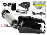 Cold Heat Shield Air Intake Kit + Black Filter For 99-03 Excursion F250/f350 7.3
