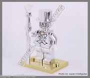 Mr.silver Mr.gold Stand Minifigures Series 10 Lego Custom