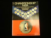 1970 Official Nba Championship Action Photos And Playoff Record Book Vg-ex