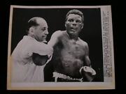 Vintage 1957 Boxing Wire Photo - Tommy 'hurricane' Jackson - 8 X 10