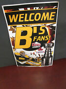 Boston Bruins-coors/molson Welcome Band039s Fans Sign Thomas W/ Cup 2011