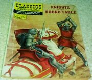 Classics Illustrated 108 Knights Of Round Table Fn- 5.5 Hrn108 50 Off Guide