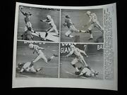 1958 Kyle Rote New York Giants Original Wire Photograph - 8 X 10