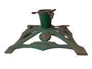 K24 Antique German Wwi Period Friede Peace Cast Iron Christmas Tree Stand