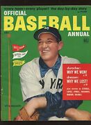 1952 Dell Official Baseball Complete Magazine With Allie Reynolds Front Cover Ex