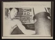 Original June 23 1976 Muhamad Ali Works Out In Tokyo For Anoki Boxing Wire Photo