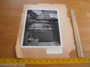 1960s Hatteras 50' Stove Kitchen Boating Yacht Advertising Photo W/articles