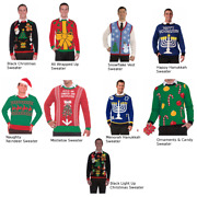 Ugly Christmas Sweaters Choose Your Design Holiday Funny Tacky Xmas Gag