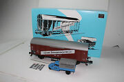 Marklin Trains 1 Gauge 58364 Museumswagen 2009 Boxcar And Truck, New In Box