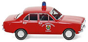 Wiking Ho 187 086130 Fire Service - Ford Escort Saarlouis - New 2015