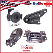 Engine Motor And Automatic Trans Mount Set For 2004-2009 Mazda 3 2.0l / 2.3l