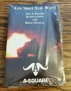 New Any Shot You Want The A-square Handloading And Rifle Manual