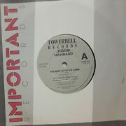 Justin Hayward7 Vinylthe Best Is Yet To Come-towerbell-tow 79-ex/ex