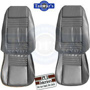 1978 Firebird Front And Rear Seat Upholstery Covers Custom Cloth Interior Pui New