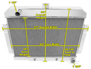 For Chevy V8 Engine 1970-1985 Jeep Cj 3 Core Champion Billet Rs Radiator