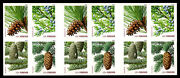4481e Evergreens, Imperf Error, 12 Stamps Imperf