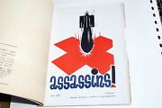 Rrr Book Issued 1937 In Moscou With Spain Anti War Posters Only 1000 Issued