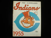 1955 Cleveland Indians Baseball Yearbook