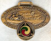 Minty And Early 1926 American Motorcycle Association Ama Gypsy Tour Award Fob