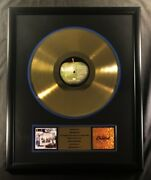 The Beatles Anthology 1 Lp Gold Non Riaa Record Award Apple Capitol Records