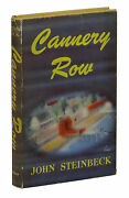 Cannery Row By John Steinbeck First Edition 1st State Buff Cloth 1945