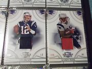 2008 Threads Materials 150 Cards Tom Brady Aaron Rodgers Drew Brees Manning Read