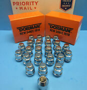 20 Wheel Lug Nuts Font And Rear L And R M12-1.50 Replace Oem 611182 Chrome
