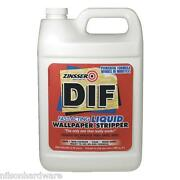 4 Gal Zinsser Dif Fast-acting Ready-to-use Wallpaper Remover Stripper 02481